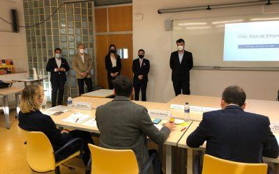 Defensa de Trabajos Fin de Máster del alumnado del MBA Industrial