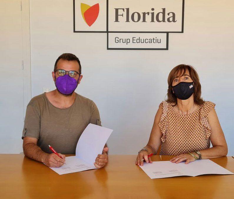 Florida Universitària firma un acuerdo con la Asociación Quera