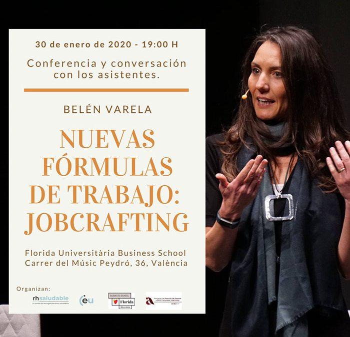 Nuevas fórmulas de trabajo: Jobcrafting